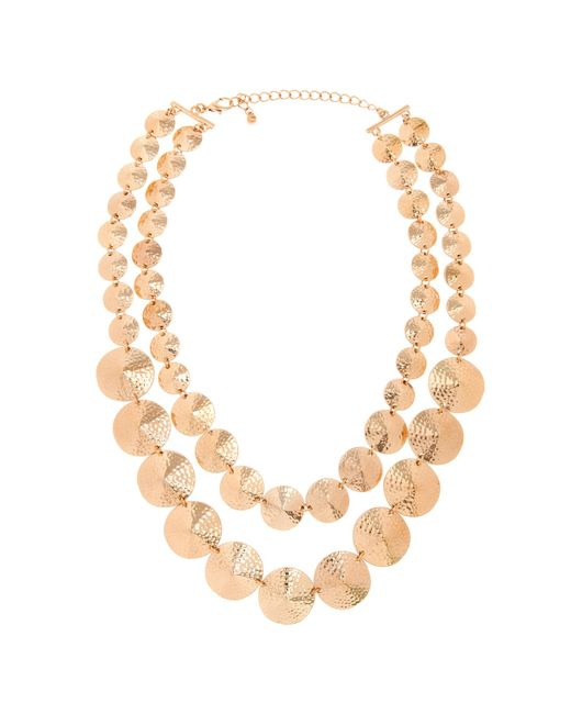 Piper Strand | Metallic Cleo Necklace | Lyst