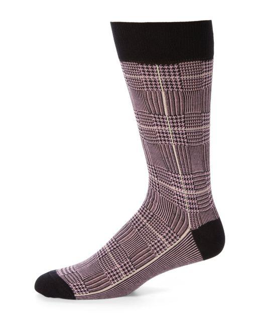 Saks Fifth Avenue | Purple Cotton-blend Dress Socks for Men | Lyst