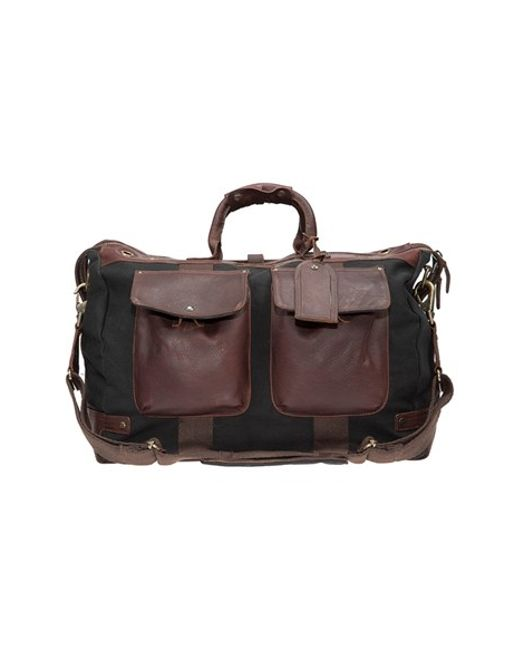 Will Leather Goods | Black Traveler Duffel Bag for Men | Lyst