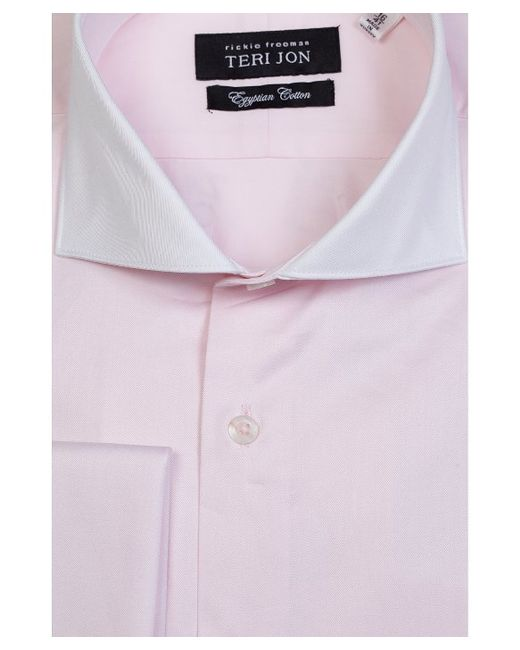 Teri jon egyptian cotton french cuffs british cut a way for Mens egyptian cotton dress shirts