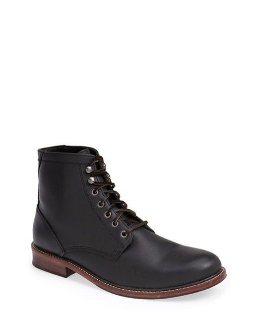 Eastland | Black 'elkton 1955' Plain Toe Boot for Men | Lyst