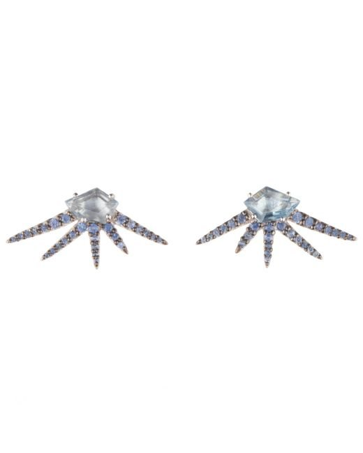 Alexis Bittar | Metallic Midnight Quartz Starburst Post Earring You Might Also Like | Lyst