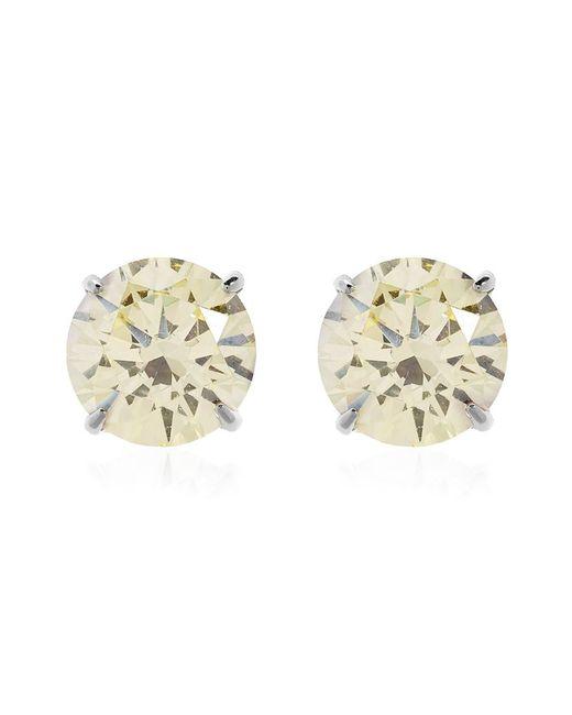 Carat* | Fancy Yellow Eternal Stud Earrings | Lyst