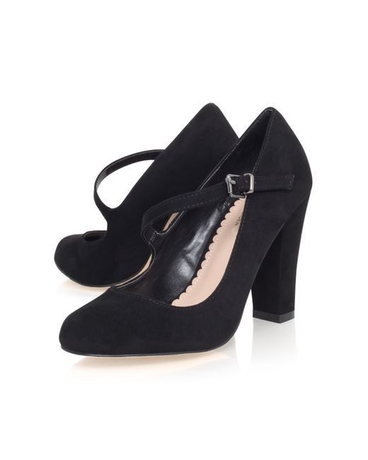 Carvela Kurt Geiger | Black Karol Block Heeled Mary Jane Shoes | Lyst
