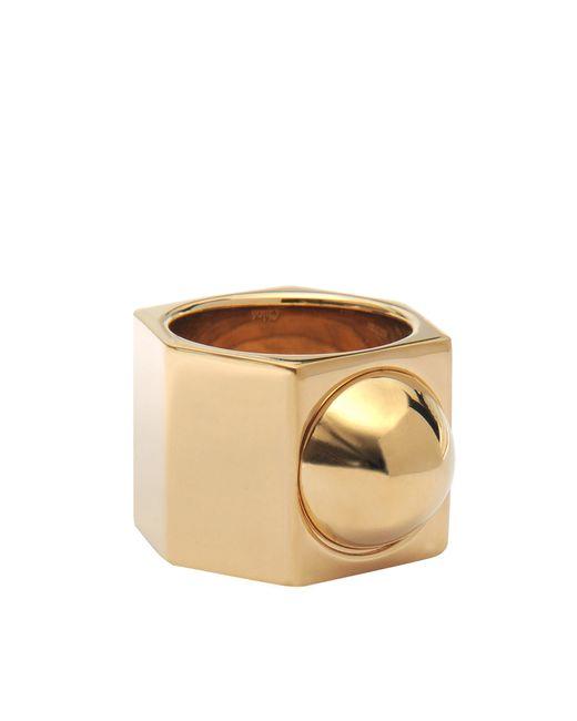 Chloé | Metallic Babeth Ring | Lyst