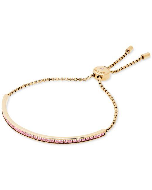 Michael Kors | Metallic Matchstick Line Bracelet | Lyst
