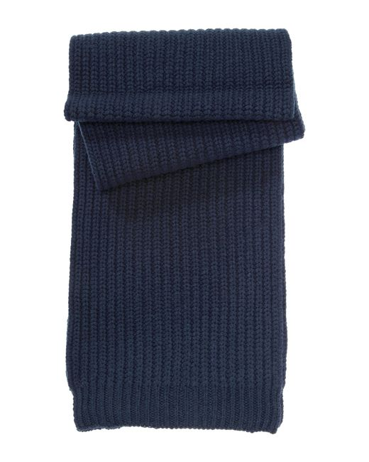HUGO | Blue Scarf In New Wool: 'zaffano' for Men | Lyst