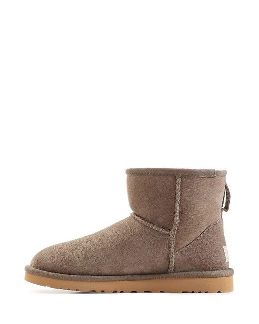 ugg boots grey mini