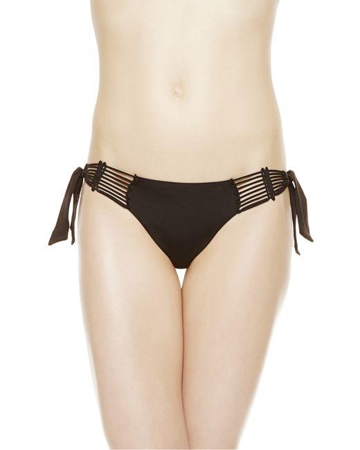 La Perla | Black Bikini Briefs With Ties | Lyst