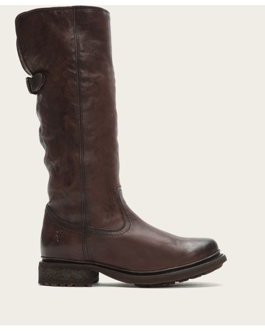 Frye | Brown Valerie Pull On Shearling | Lyst