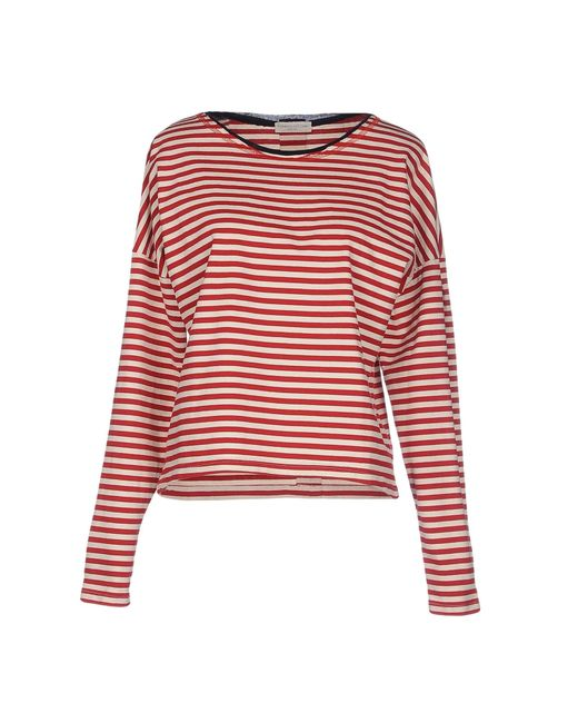 Roberto Collina   Red T-shirt   Lyst