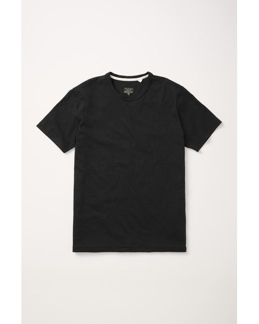 Rag & Bone | Black Perfect Jersey Tee for Men | Lyst