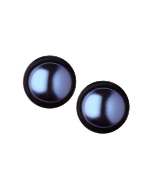Links of London | Black Effervescence Large Pearl Stud Earrings | Lyst