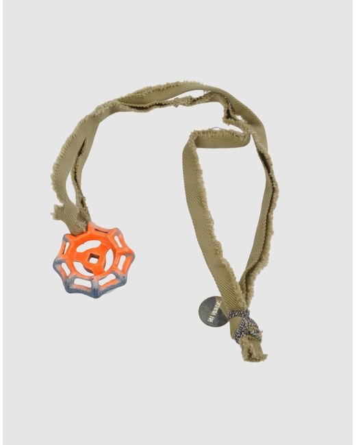 Stefania Pia   Orange Necklace   Lyst
