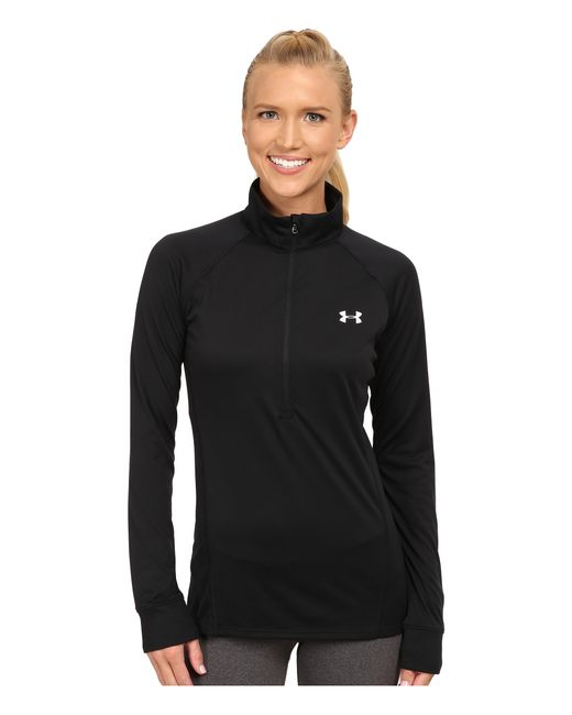 Under Armour | Black Ua Tech™ 1/2 Zip | Lyst