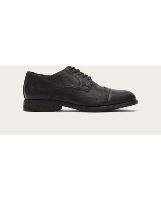 Frye | Black Everett Cap Toe for Men | Lyst