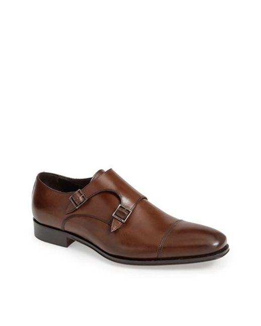To Boot | Brown 'grant' Double Monk Shoe for Men | Lyst