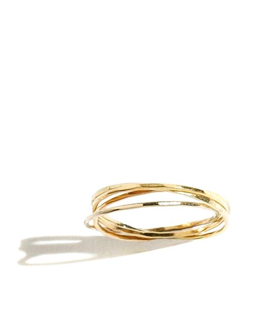 Melissa Joy Manning | Metallic Interlocking Gold Rings | Lyst