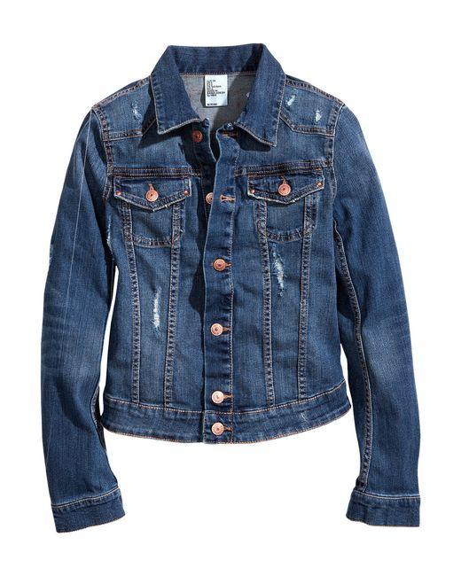 H&M | Blue Denim Jacket for Men | Lyst