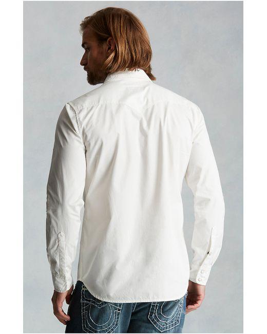 True Religion | White Western Mens Shirt for Men | Lyst