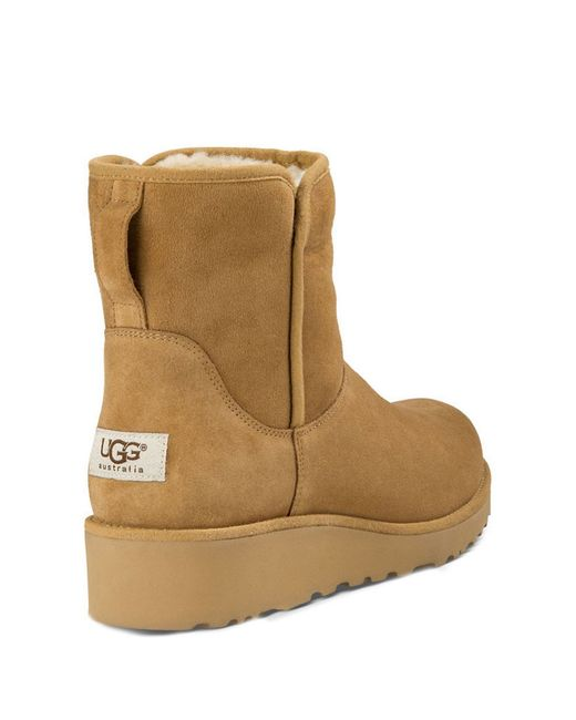ugg style boots with wedge heel