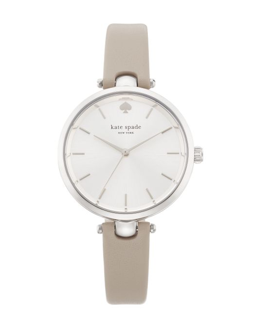 kate spade new york | Gray Holland Skinny Strap Watch | Lyst