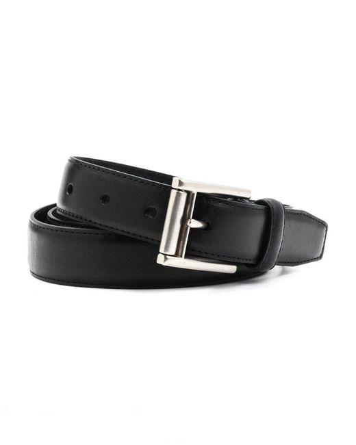 Lauren by Ralph Lauren | Black Leather Buckle Belt for Men | Lyst