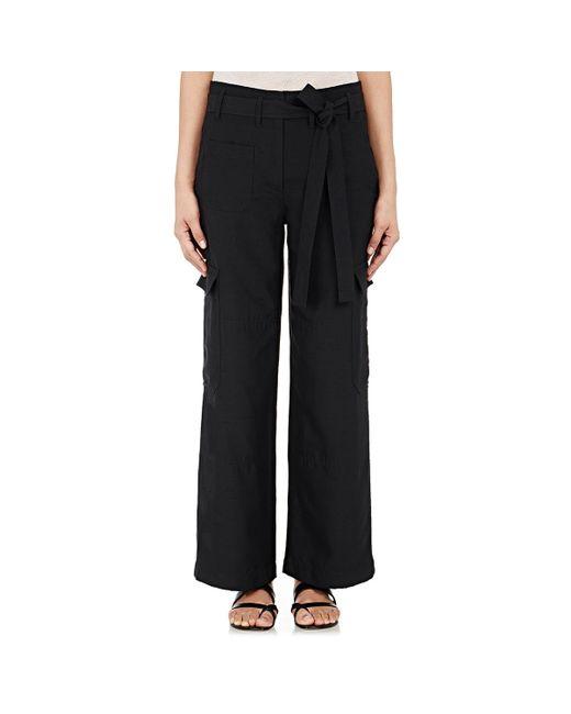 New Helmut Lang Women39s Wideleg Cargo Pants In Black  Lyst