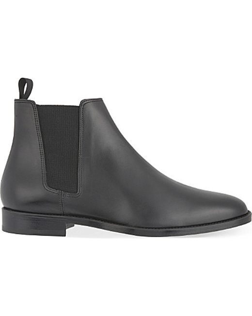 Sandro   Black Leather Chelsea Boots for Men   Lyst