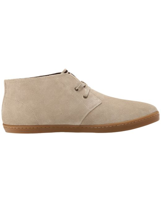 Fred Perry | Natural Byron Mid Suede for Men | Lyst