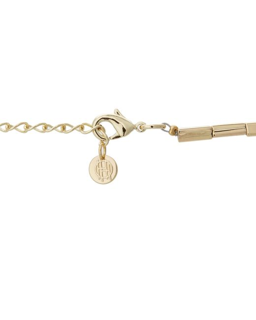 House of Harlow 1960 | Metallic Engraved Classic Station Necklace | Lyst