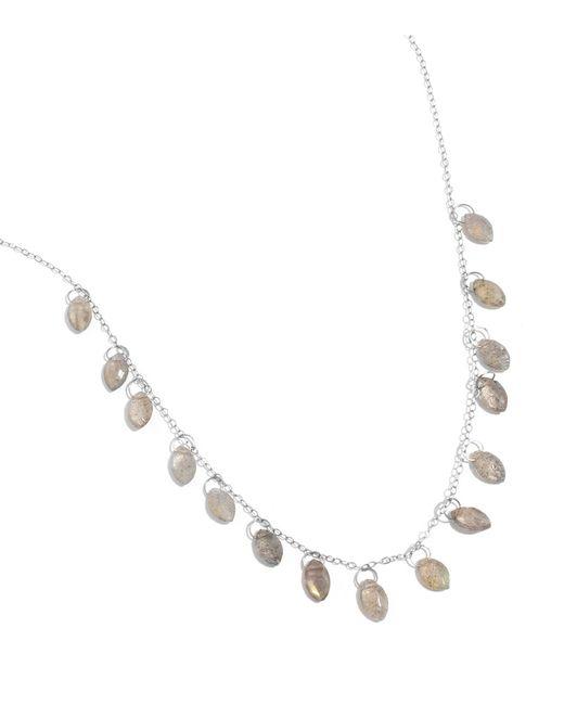 Melissa Joy Manning   Metallic Labradorite 15 Drop Necklace   Lyst