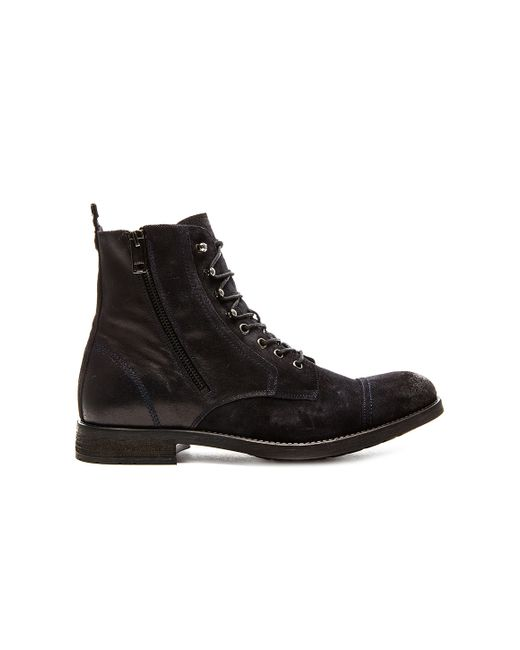 DIESEL | Black Hardkor Boot for Men | Lyst