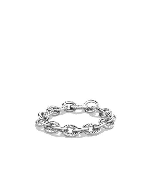 David Yurman | Metallic Oval Large Link Bracelet | Lyst