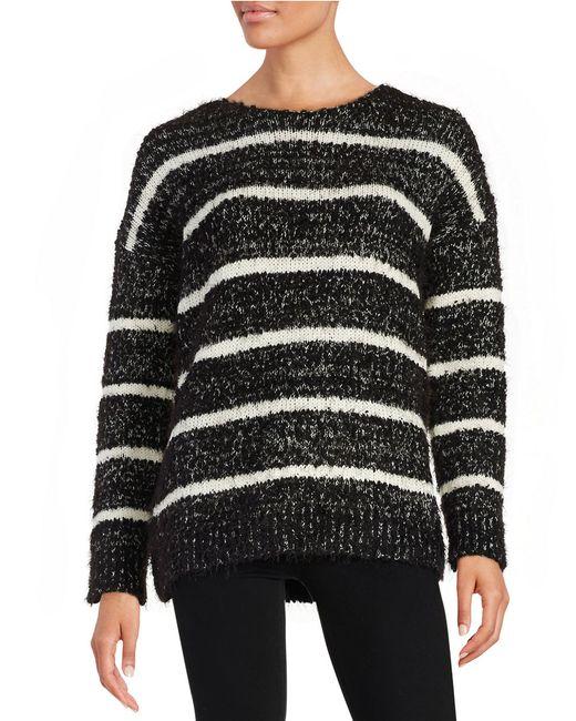 Calvin Klein | White Eyelash Knit Sweater | Lyst