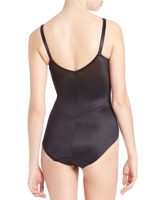 Tc Fine Intimates | Black Sheer Bodybriefer | Lyst