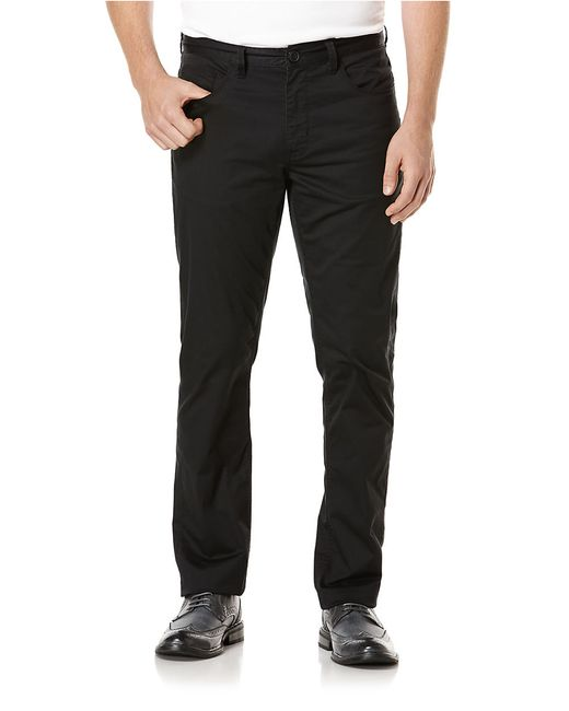 Perry Ellis | Natural Flat-front Corded Pants for Men | Lyst