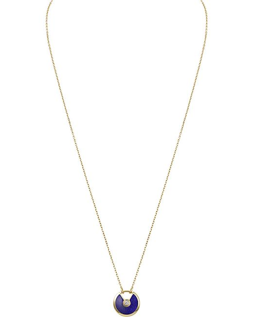 Cartier | Amulette De 18ct Yellow-gold | Lyst