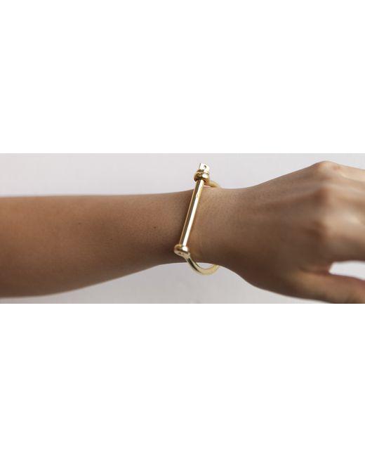 Kaufmann Mercantile | Metallic Miansai Solid Brass Screw Cuff Bracelet | Lyst