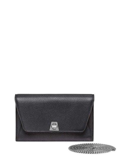 Akris | Black 'anouk' Wallet On A Chain | Lyst