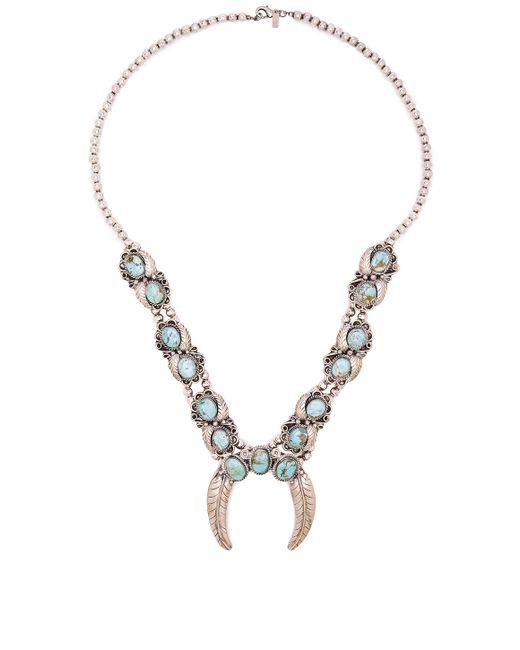 Natalie B. Jewelry | Blue Naja Squash Blossom Necklace | Lyst