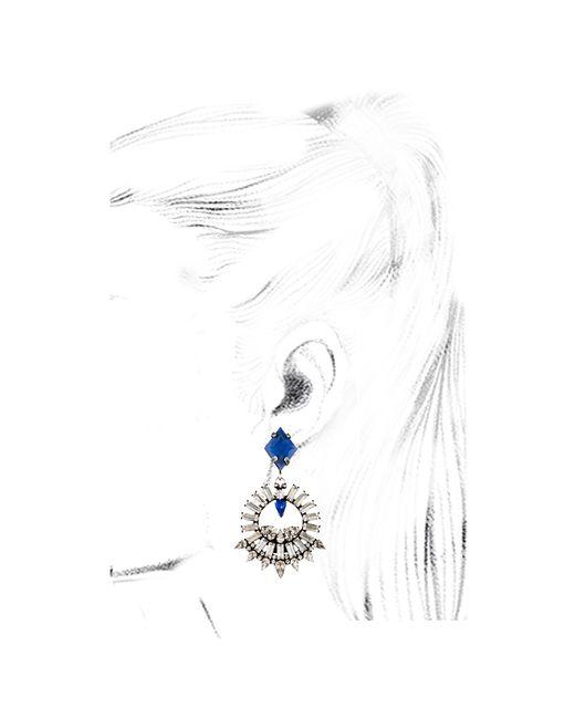 DANNIJO   Metallic Coraza Earrings   Lyst