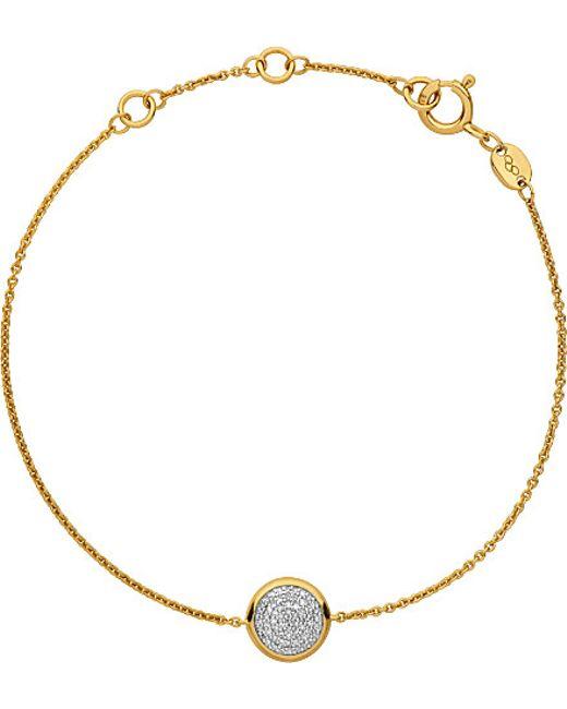 Links of London | Metallic Diamond Essentials Gold-plated Diamond Bracelet | Lyst