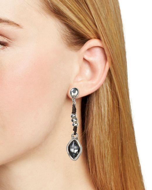 Uno De 50 | Metallic Harmonic Linear Drop Earrings | Lyst