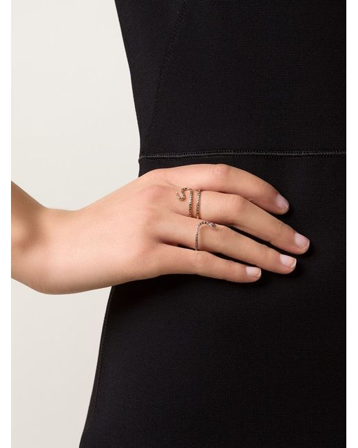 Ileana Makri   Metallic Python Ring   Lyst