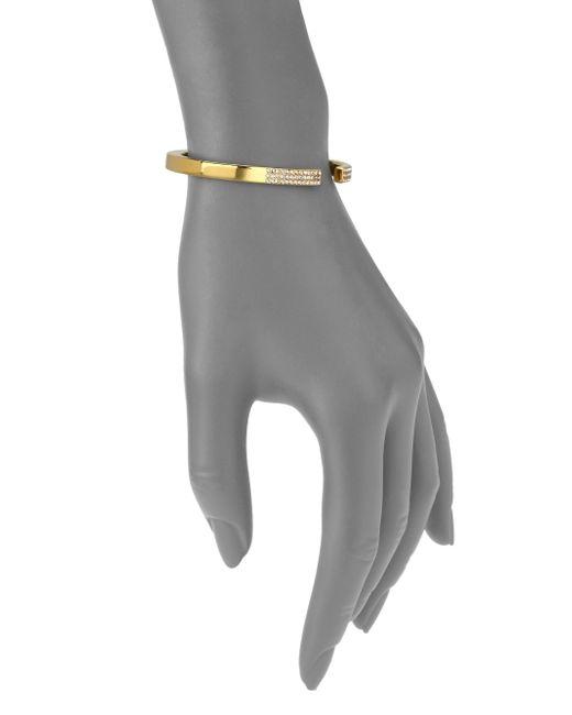 Vita Fede   Yellow Diviso Crystal Cuff Bracelet/Goldtone   Lyst