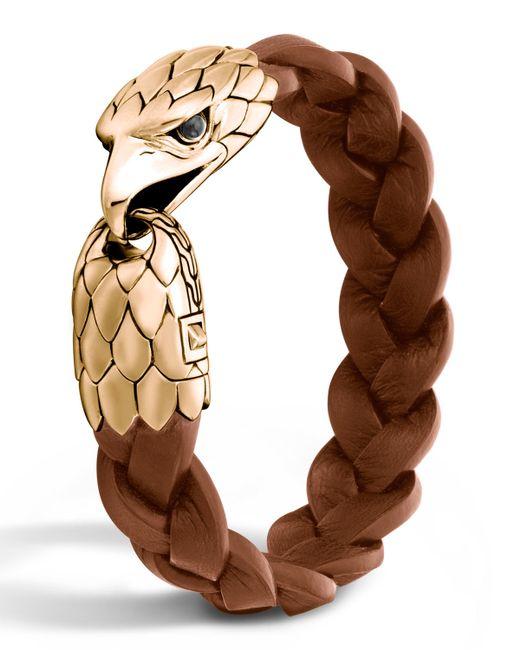 John Hardy | Metallic Men's Bronze Eagle Head Bracelet for Men | Lyst