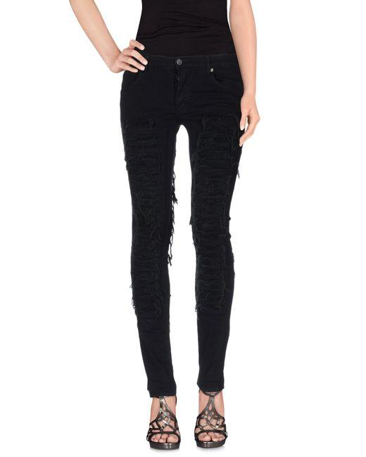 Cheap Monday | Black Denim Trousers | Lyst