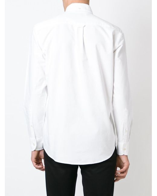 Our Legacy Button Down Collar Shirt In White For Men Lyst