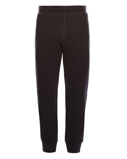 Lanvin | Blue Straight Leg Jersey Track Pants for Men | Lyst